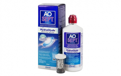 Υγρό Φακών Επαφής AOSEPT PLUS HydraGlyde 360ml