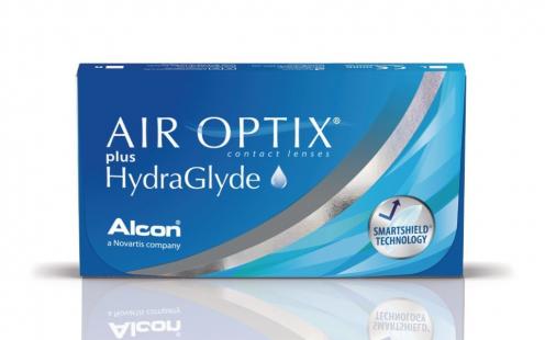 Φακοί Επαφής Air Optix Plus Hydraglyde Μηνιαίοι 3 τεμ